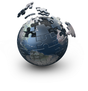 Globe-Puzzle-Pieces